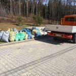 Myśliwi sprzątają świat - akcja zbierania śmieci